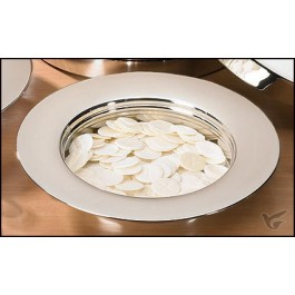 Stacking bread plate stainless steel/sil