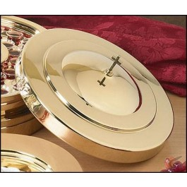 Brass communion tray cover