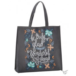 Tote bag be truly glad