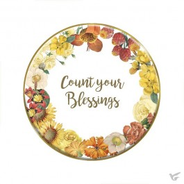 Tabletop plaque count your blessing