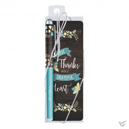 Pen/bookmark grateful heart