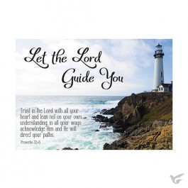 Postcard let the Lord guide you set6