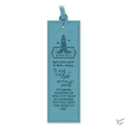 Luxleather bookmark lighthouse