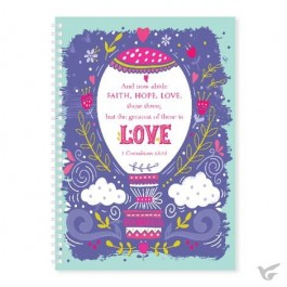 Soft cover journal 1 cor 13:13