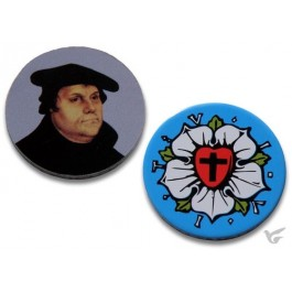 Winkelwagenmuntje - Martin Luther