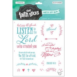 Stickers isaiah 43:1