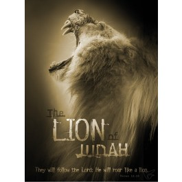 Poster the lion of Judah