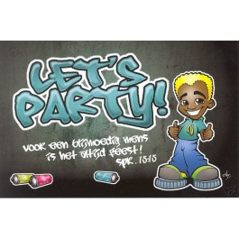 Kaart grafity let's party