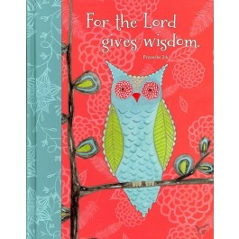 Hardcover journal Lord gives