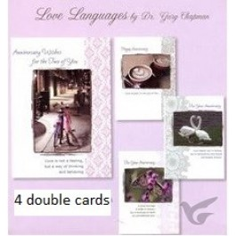 Cards anniversary love languages set4