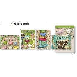 Cards all occasion one good cup set4