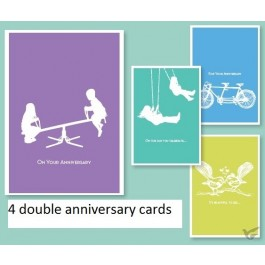 Cards anniversary it takes two set4