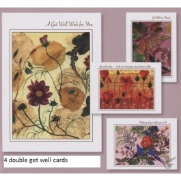 Cards get well peace en grace set4