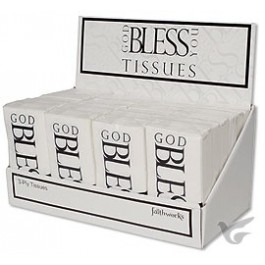 Display 24 God bless you tissues :   , 886083066597