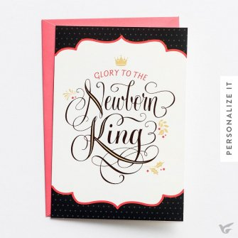 Glory to the Newborn King - 18 cards