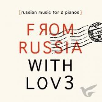 Russian Music For 2 Pianos (from Russia
