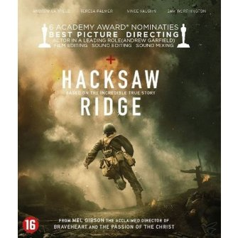 Hacksaw Ridge Bluray