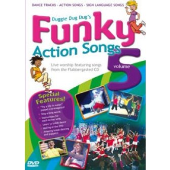 Funky action songs vol 5 : Doug  Horley, 5019282002188