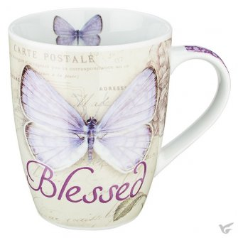 Blessed - Butterfly - Purple