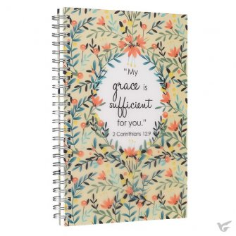 My grace is sufficient for you : Wirebound  notebook, 6006937132153
