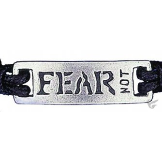 Fear Not - Leadfree pewter tag
