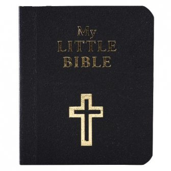 My Little Bible - Navy Blue (packs Of 10