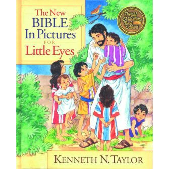 The New Bible In Pictures For Little Eye