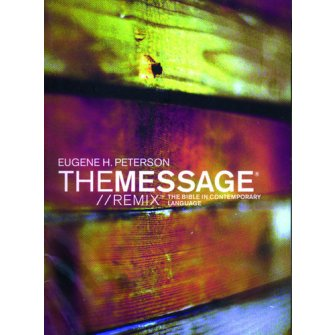 The Message Bible - Remix - 2.0 Wood