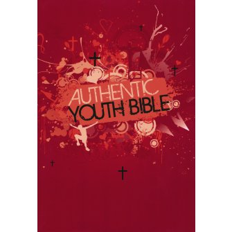Authentic Youth Bible Red - Hardback