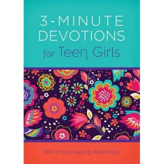 3-minute Devotions For Teen Girls
