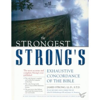 The Strongest Strong's Exhaustive Concor