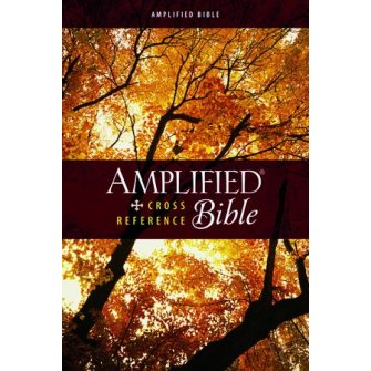 Amplified Cross-Reference Bible Colour - Hardback