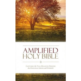 Amplified Holy Bible - Thinline Colour - Hardback