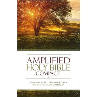 Amplified Holy Bible - Compact Colour - Hardback