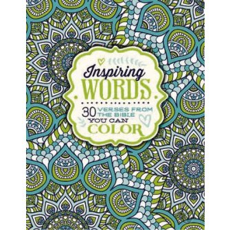 Inspiring Words 30 Verses From The Bible You Can Color