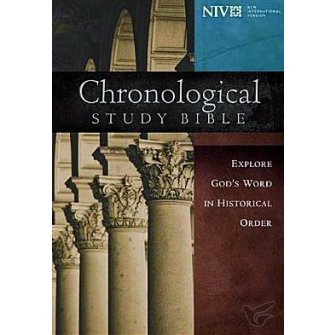 Chronological Study Bible - Explore God's Word In Historical Or Colour - Hardback