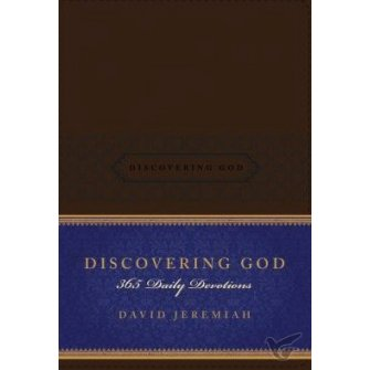 Discovering God: 365 Daily Devotions Brown - Soft Leatherlook