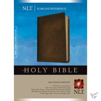 Compact Bible Rustic Brown - imit. Leather