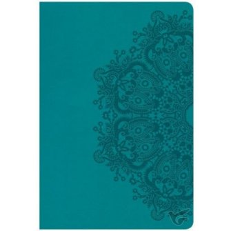 Giant Print Reference Bible - Teal