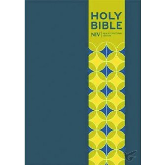 Pocket Bible with Clasp Blue Soft-Tone