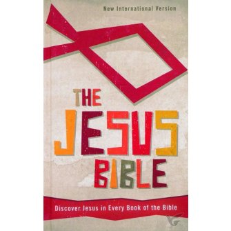 The Jesus Bible: Discover Jesus in Every Book of the Bible Colour - Hardback