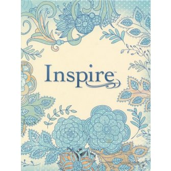 NLT inspire bible color softcover