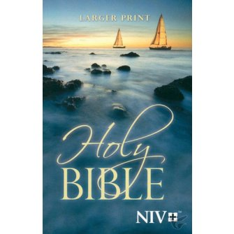 Larger Print Bible : Bible - NIV, 9781563207211
