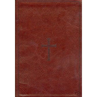 NKJV Compact UltraThin Reference Bible Brown - Imit. Leather