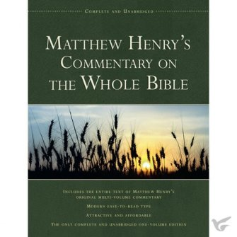 Matthew Henry's Commentary On The Whole