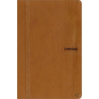The Message Slimline edition : Bible - MES, 9781631464331