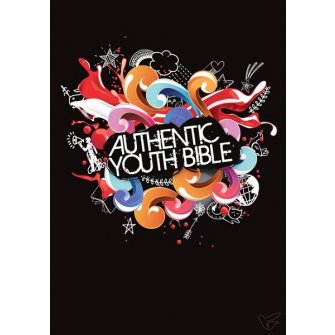 Authentic Youth Bible -Black