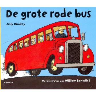 Grote rode bus