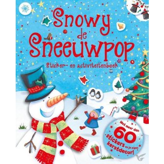 Snowy de sneeuwpop stickerboek