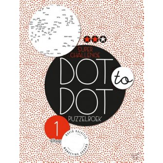 Dot to dot puzzelboek super challenge